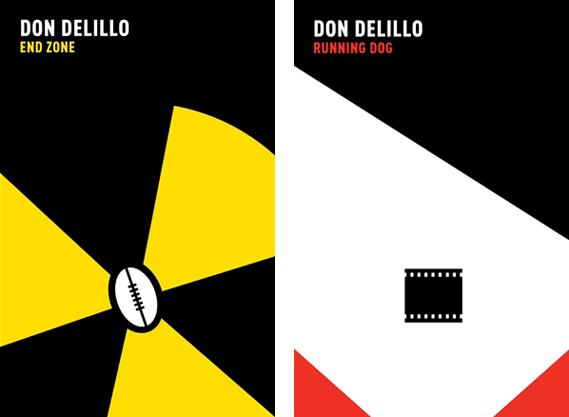 Creative Review - Don DeLillo covers by Noma Bar