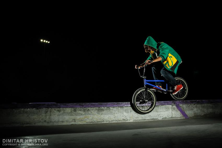 Skatepark night shot - 54ka [photo blog]