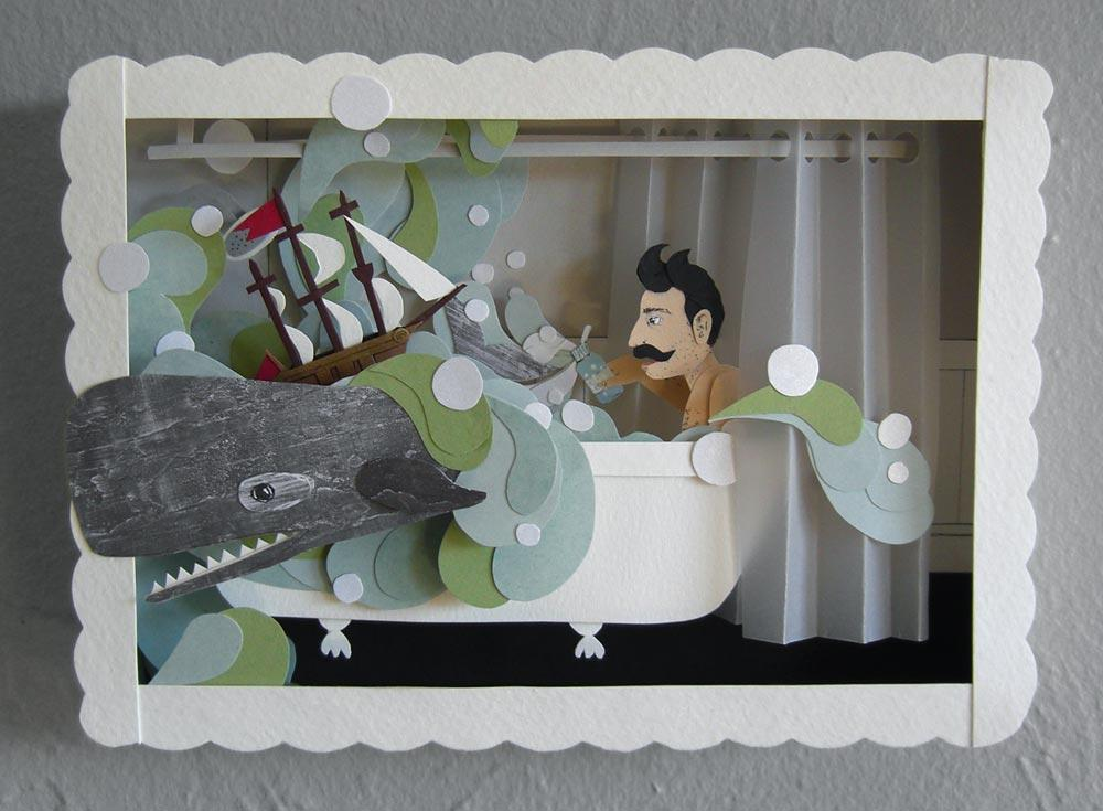 Roadside Projects : Cut Paper Art & Illustration by Jayme McGowan - Portfolio