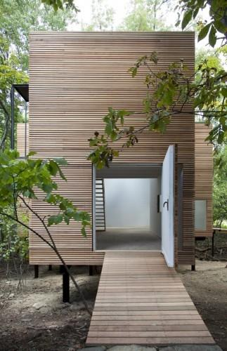 materiality / T Space by Steven Holl Architects