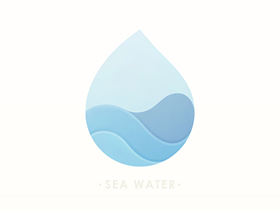 Sea Water by Yoga Perdana