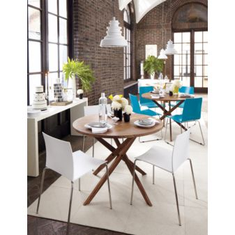 CB2 - twist bistro table