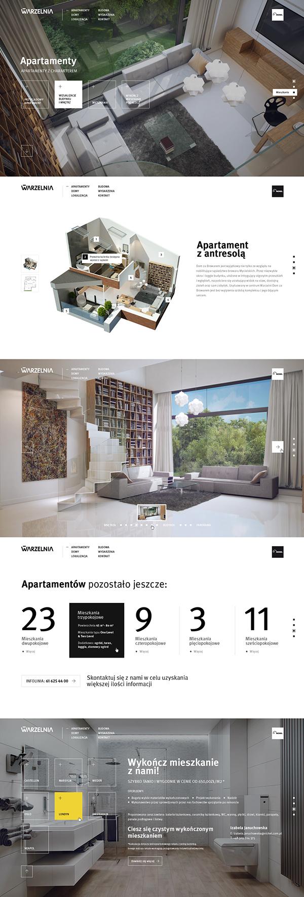 New Warzelnia on Web Design Served