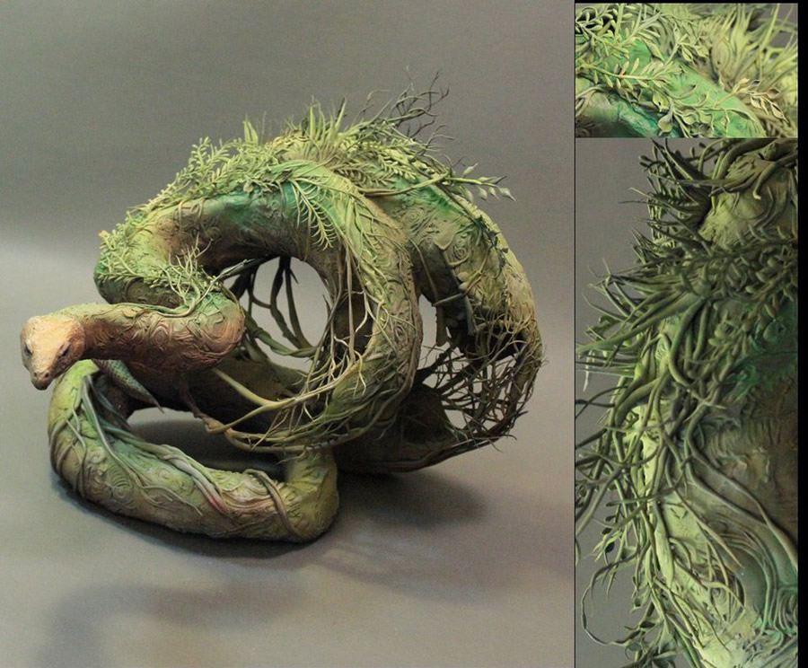 Outstanding Surreal Sculptures by Ellen June | Abduzeedo Design Inspiration