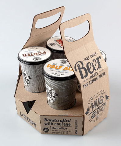 Student Spotlight: MUG pub - TheDieline.com - Package Design Blog