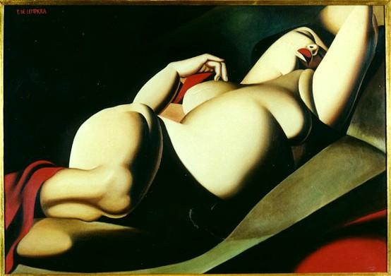 Curves / Fat People Art • tangledupinlace: poboh: Tamara de Lempicka....