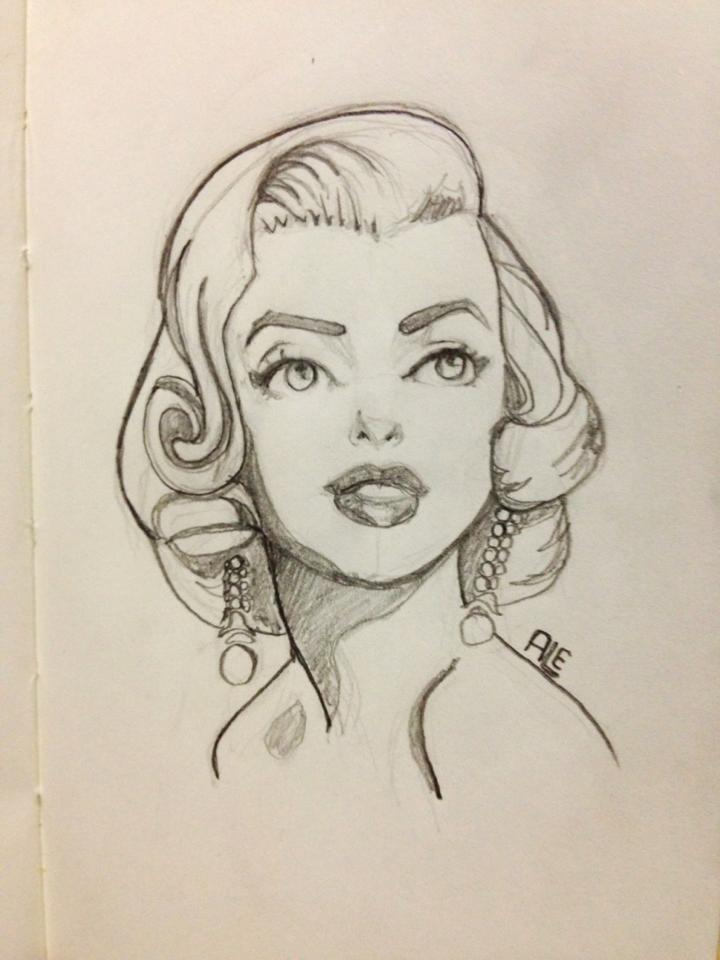 SerialThriller™ — Marilyn Monroe by Alemchl