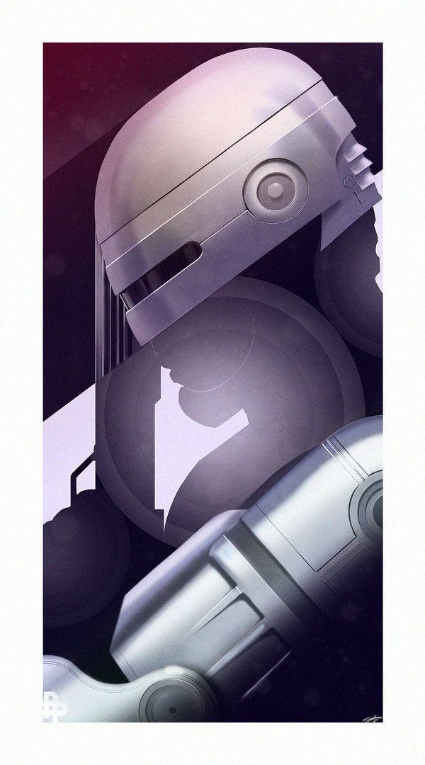 SerialThriller™ — Robocop by AndyFairhurst