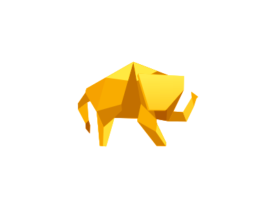 Golden Elephant by Tie a Tie