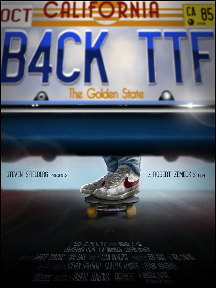 Alternative 'Back to the Future' Posters