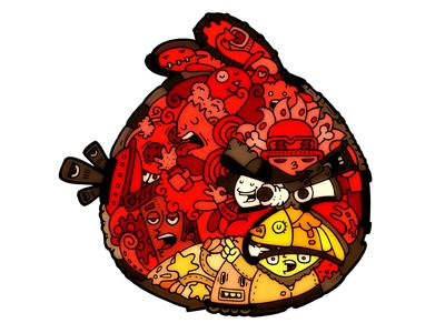Angrybirds by carnivorum by CARNIVORUM by Edu Morente