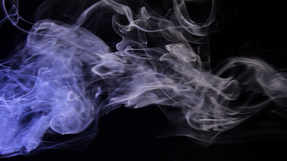 Stock Footage - Bule Smoke | VideoHive