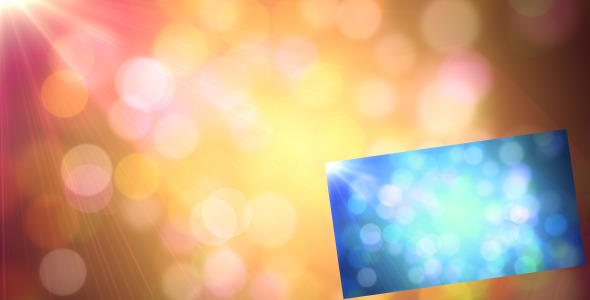 Motion Graphics - Colorful Bokeh - 2 Color Pack | VideoHive