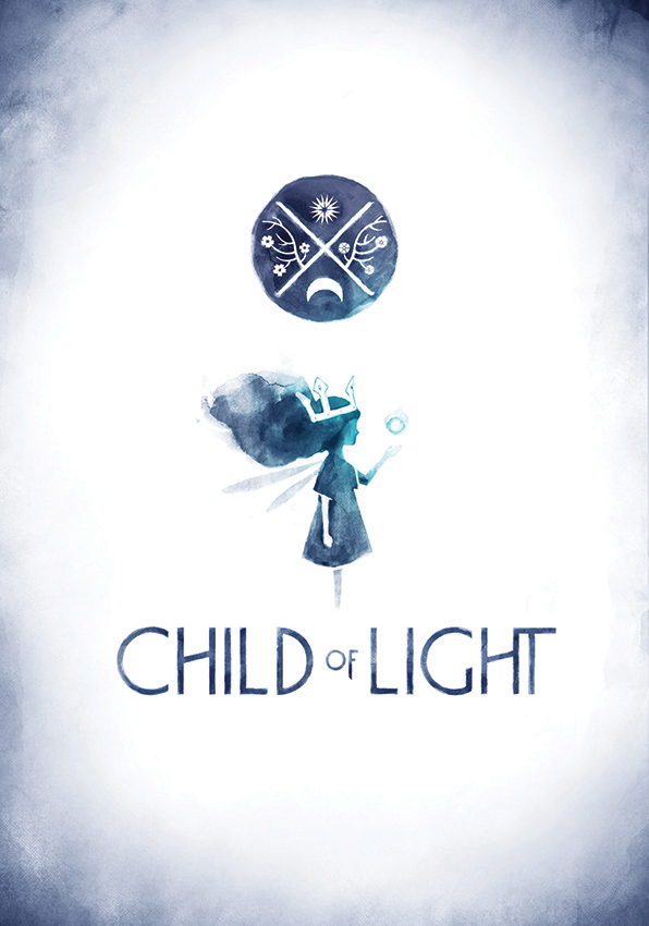 Child of Light Logotype & Guideline on Inspirationde