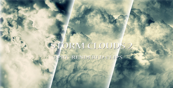 Motion Graphics - Storm Clouds 2 | VideoHive