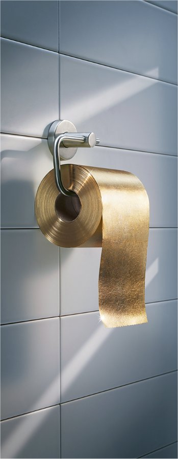 Wipe you bum in gold… | My PINBOARD - Share your pics for free on My Pinboard