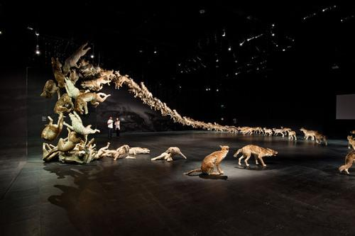 astronautte: Head On is created by Cai Guo... - N.E.R.F.