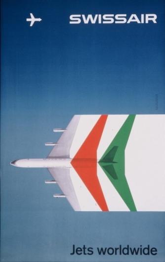 Designspiration — Swissair Poster