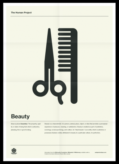 Designspiration — The Human Project (Beauty) Poster