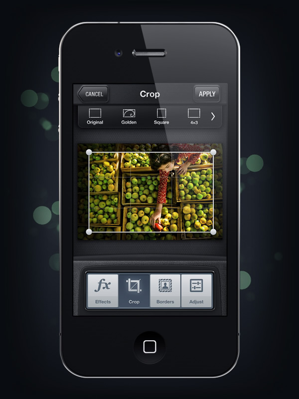 UI Design: Camera Genius App | Abduzeedo | Graphic Design Inspiration and Photoshop Tutorials
