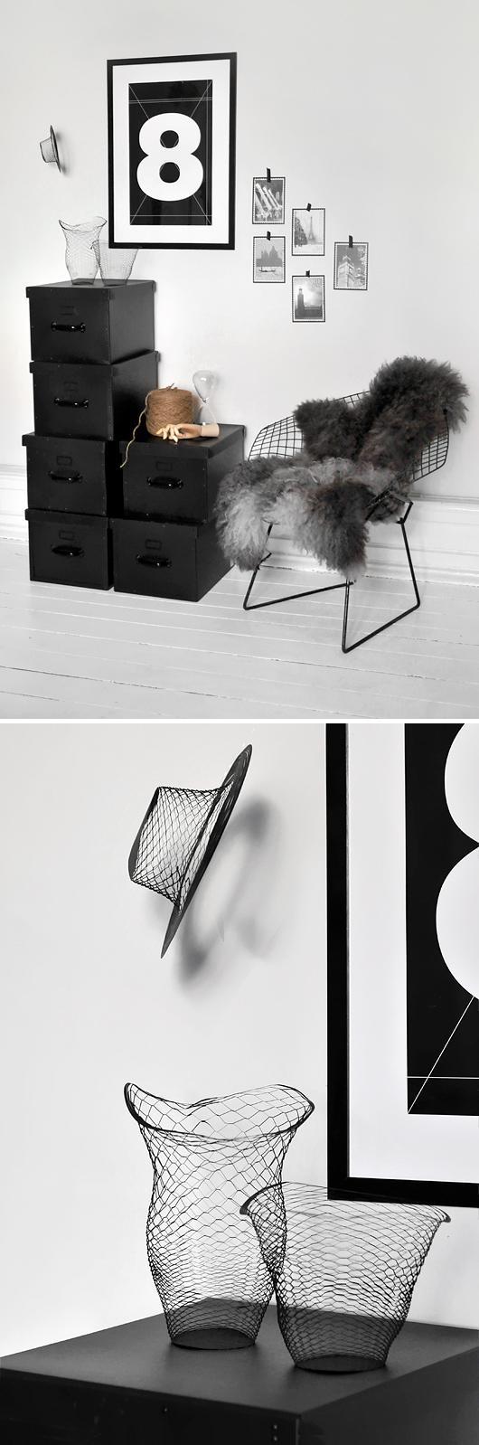Trendenser - Diamond chair och Air Vase