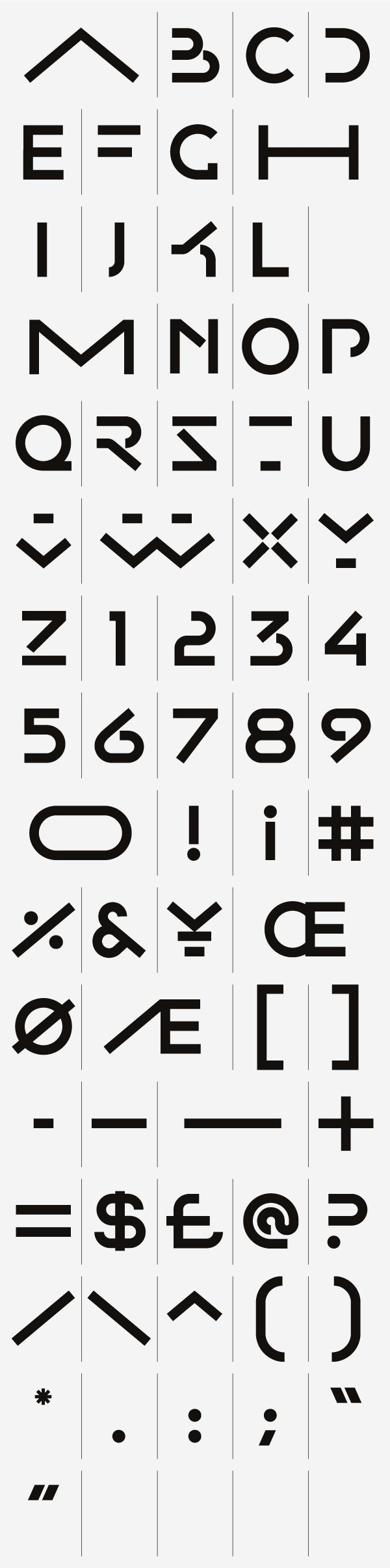 CA Collection — Typeface