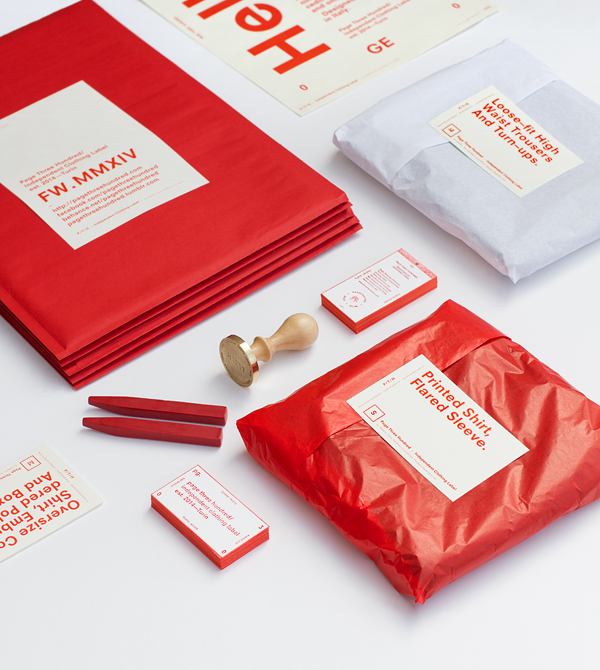 P/T/H . MMXIV F/W Collection Branding & Packaging on