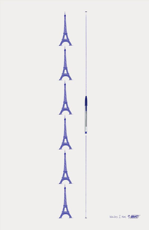 Bic: Eiffel Tower   PIKTED