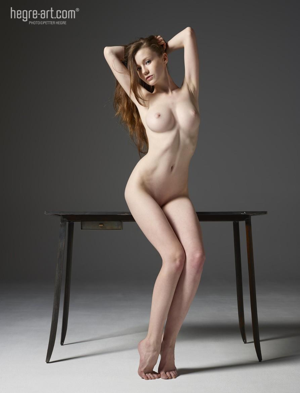 Hegre Art Emily Table Poses by Hegre Art / 500px