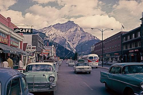 Retro World — travelhighlights: Main Street vs. Canadian...
