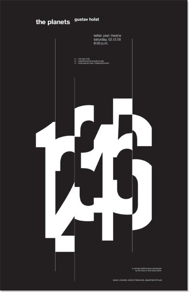 poster | Typographie | Pinterest