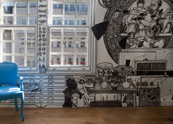 Wall Drawings by Charlotte Mann | Feature Me | Feature Me