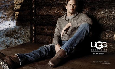 MediaPost Publications QB Tom Brady Kicks Off Uggs Effort 09/09/2011