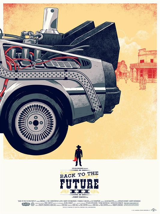 Back to the Future Trilogy Poster : trfling