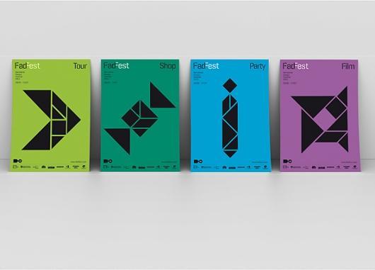 Designspiration — Work: FadFest_posters   Astrid Stavro