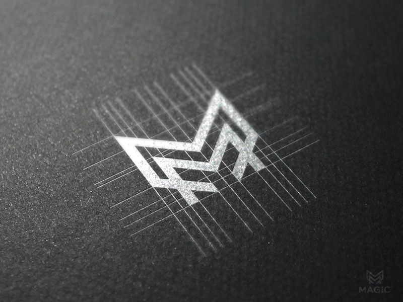 M monogram by Reloart on Inspirationde