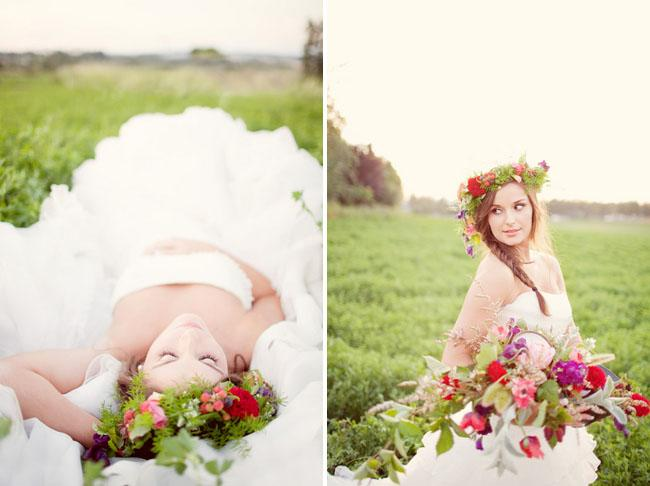 Poppy Field Bridal Shoot | Green Wedding Shoes Wedding Blog | Wedding Trends for Stylish + Creative Brides