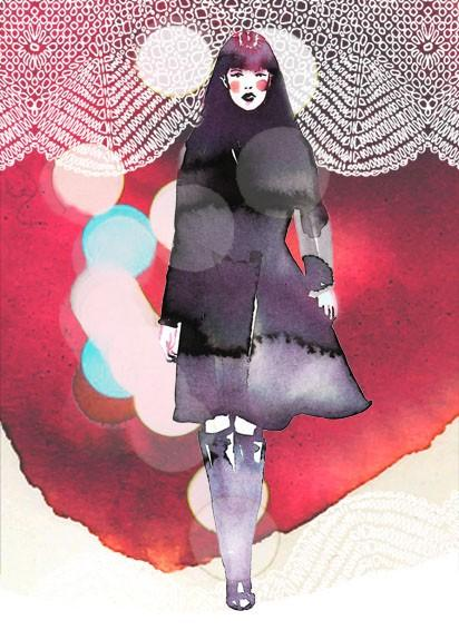 fancied / Picture 110 « Page 4 « watercolor & ink — Samantha Hahn: Illustration + Surface