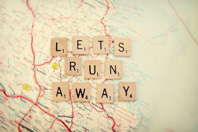 let's run away Art Print by Shannonblue | Society6