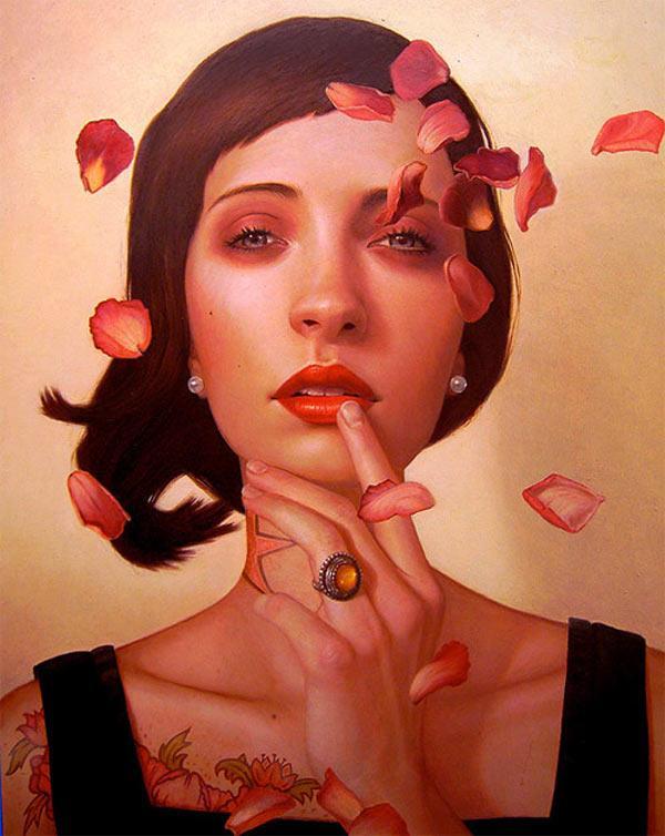 Juxtapoz Magazine - The Art of Kris Lewis | Current