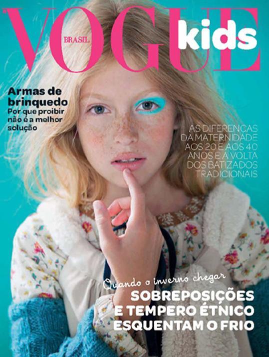 NAS CAPAS: VOGUE KIDS BRASIL