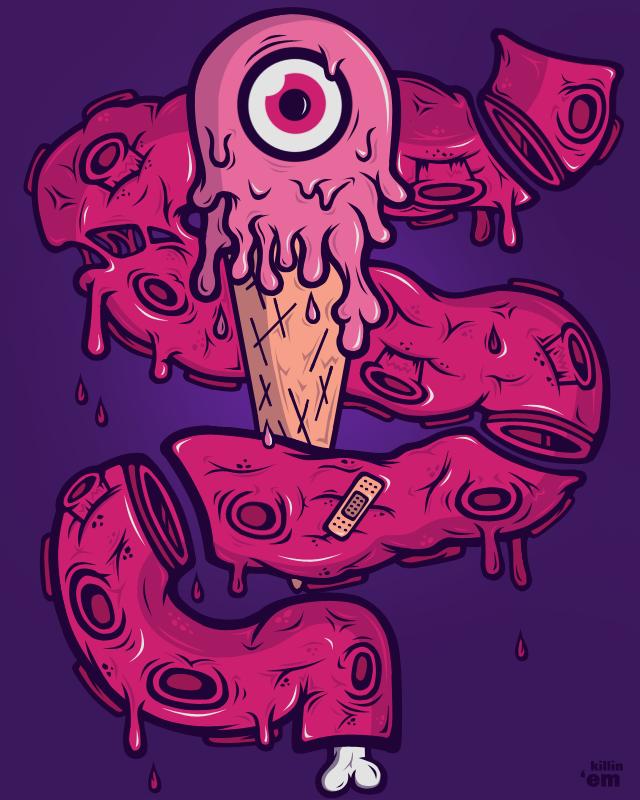 Octo-EyeScream by ~TDOL3