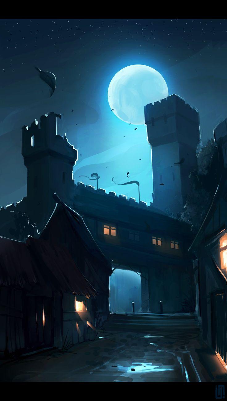 Castlemoon by Callesw | Fantasy | Pinterest