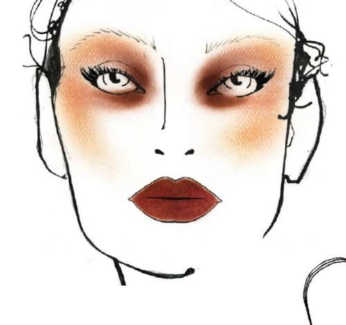 MAC Cosmetics at Parish Fashion Week 2010 – Face Charts – 7 March | Chic Profile