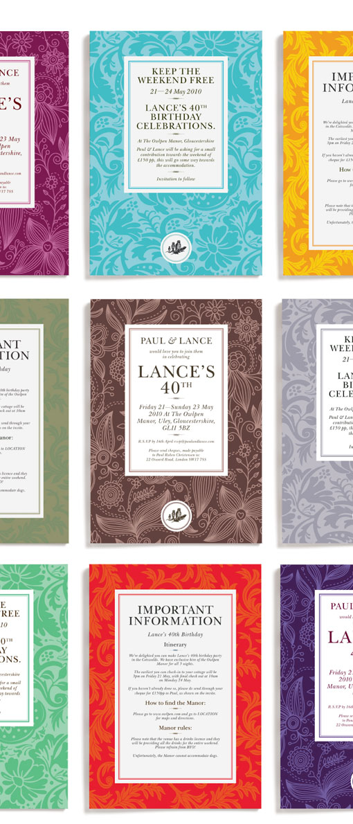 design work life » Leterme Dowling: Lucy Attwood Events