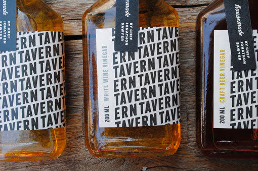 Gunnar Cook Photography / pattern, packaging, typography // cwisnieski_tavernvinegar_01