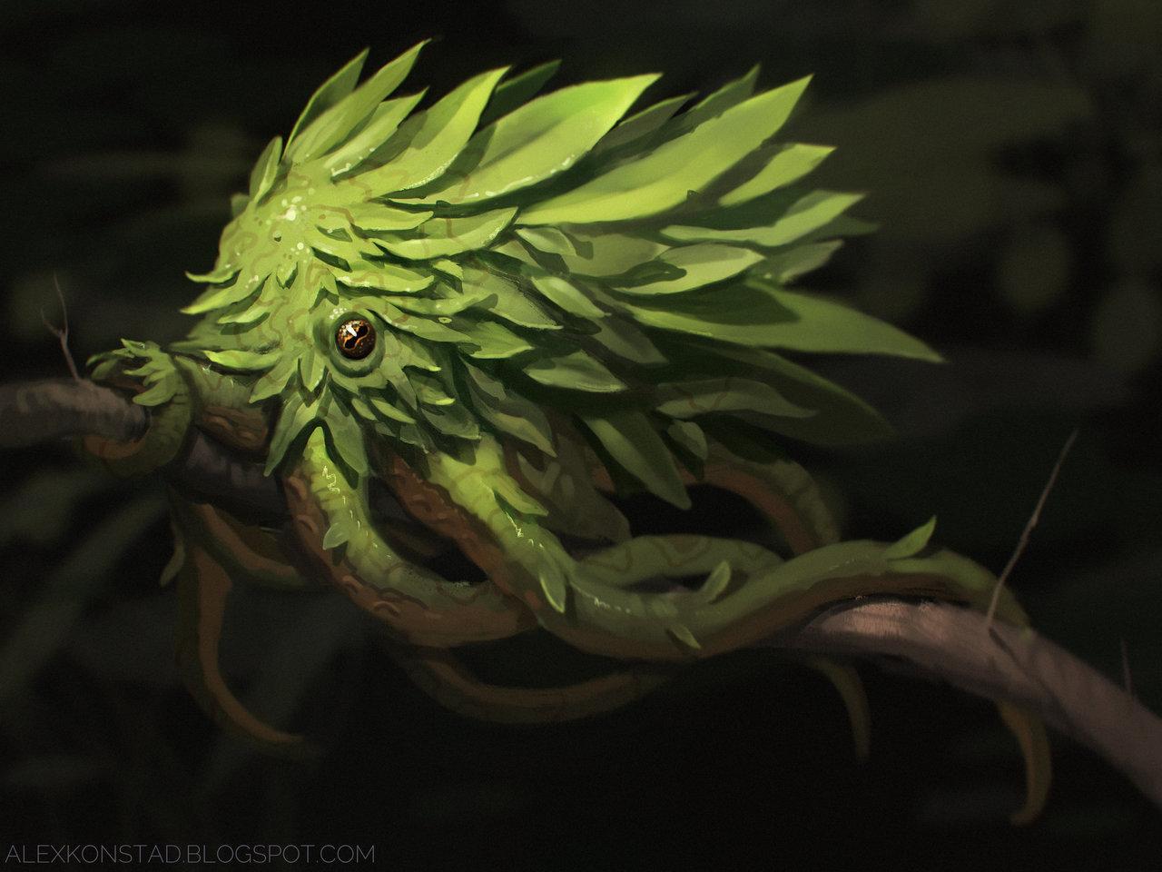 Leaf Octopus by AlexKonstad on DeviantArt