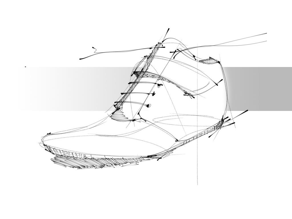 georgeesound shoe design sketch 1 480541 on wookmark
