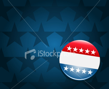 Election campaign button | Stock Illustration | iStockphoto.com