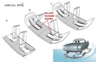 Pixar News Australia: Finn McMissile Concept Art